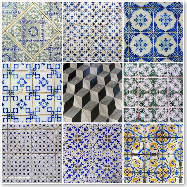 Cores de Olinda IV - Azulejos (Tiles)