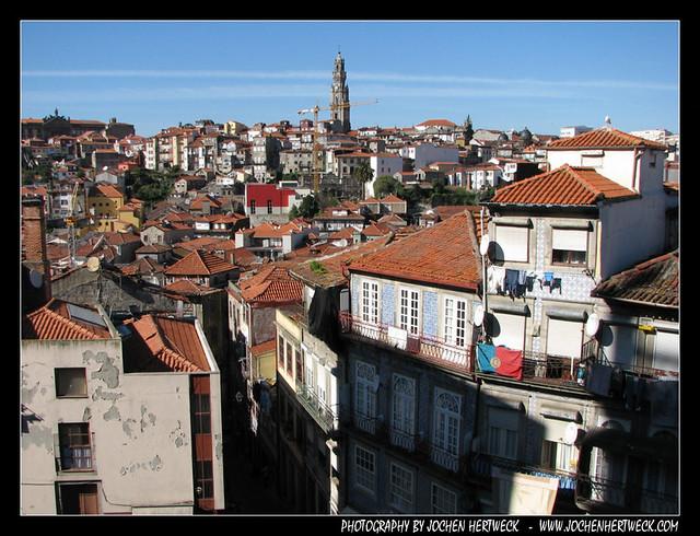 View from Terreiro da Sé, Porto, Portugal