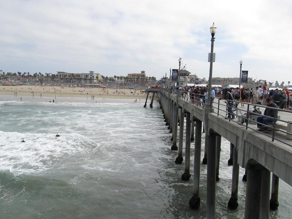 Huntington Beach Pier, Huntington Beach, California