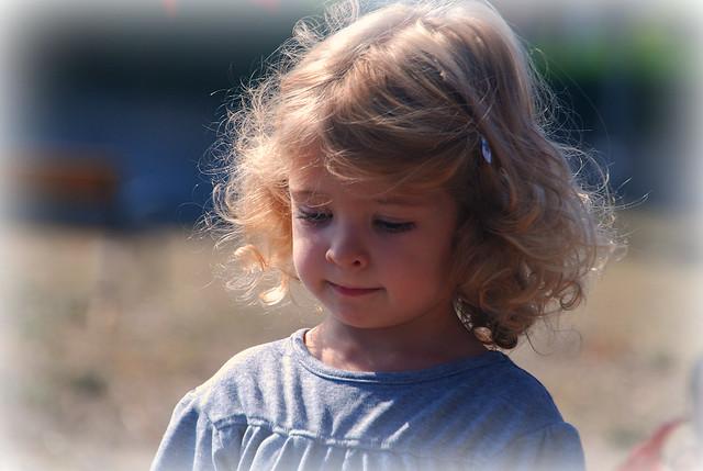 La niña de mis ojos.The girl of my eye.