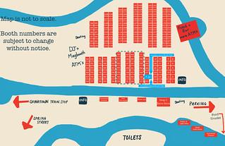 LA Renegade Craft Fair 2011 Vendor & Booth Map | by strawberryluna