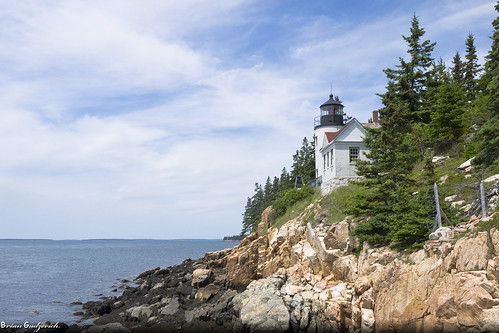 Bass Harbor Light House | by Northern Wolf Photography