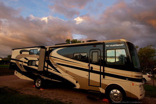 sunset vacation usa clouds published sd rv rapidcity homesweetroad