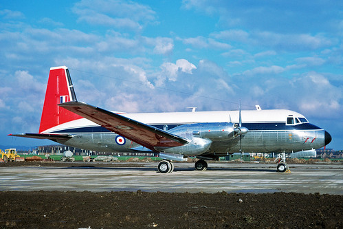 XS790 Avro 748 Srs 2A Andover CC.2 Royal Air Force Queens Flight LPL 07MAY66 | by Ken Fielding
