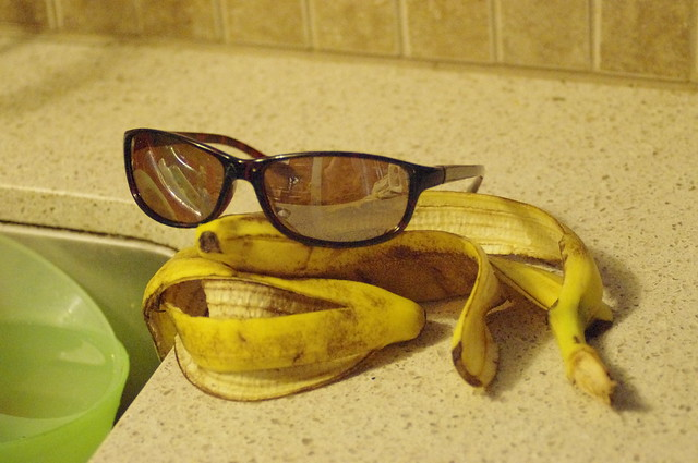 Jack Nicholson Banana Peel 1
