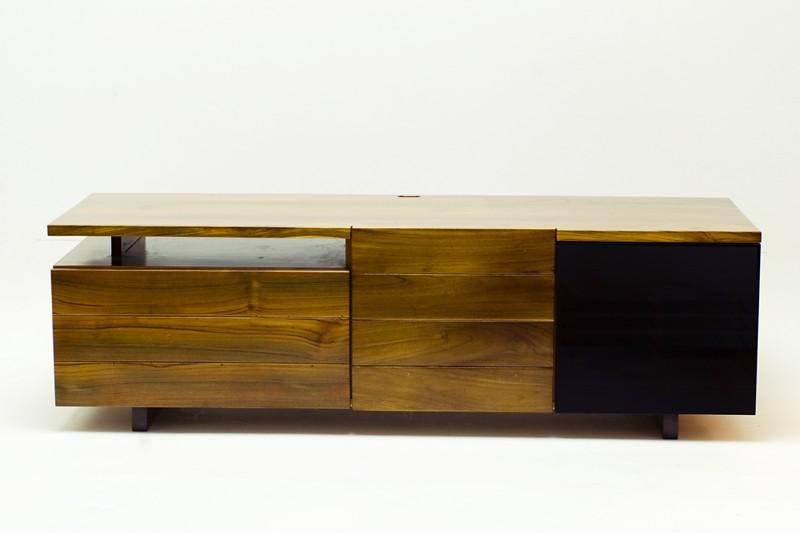 Tv Meubel Teak Modern.Woodworking Project A Modern Solid Teak Wood Tv Cabinet Flickr