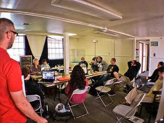 UC Berkeley Anthro 136e Summer 2011 course at the Presidio de San Francisco National Park | by CoDiFi