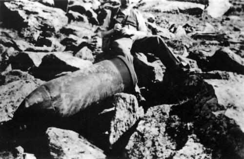 Udetonert granat etter kampene om Narvik