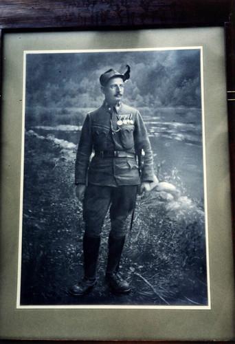 Rudi Margreiters far - 1. verdenskrig