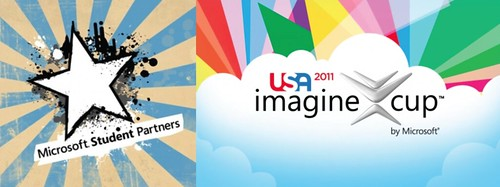 Microsoft Student Partner and Imagine Cup 2011 Logos | by ColinAC