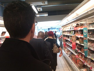 Lunchtime Queue in the Supermarket | by oatsy40