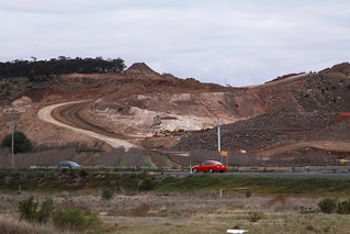 Cuttings for the new Western Freeway alignment at Bacchus Marsh | by Marcus Wong from Geelong