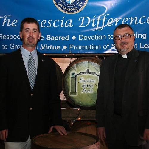 Fr. Larry Hostetter and Jason Cox