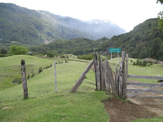 The Argentine-Chilean border