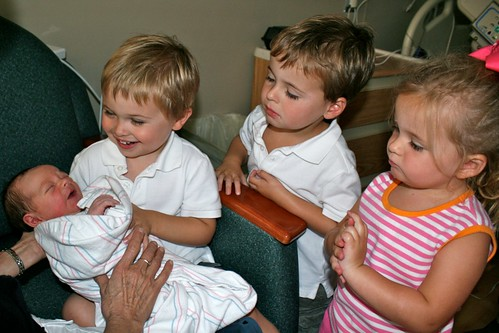 The Time The Triplets Met Their Brother | by john cave osborne