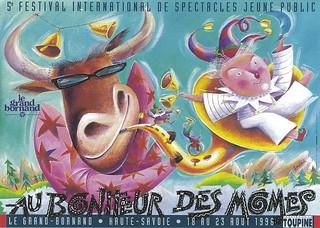 Affiche Festival Au Bonheur des Mômes-1996 | by Le Grand-Bornand