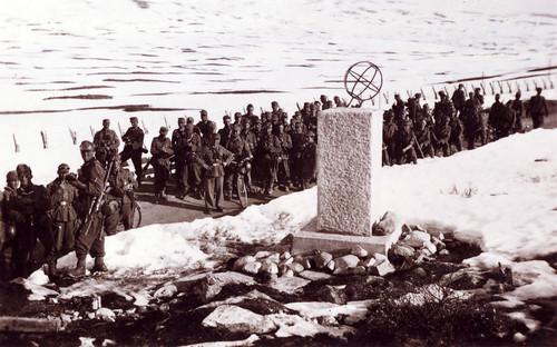 Det 7.Kompani har nådd Polarsirkelen
