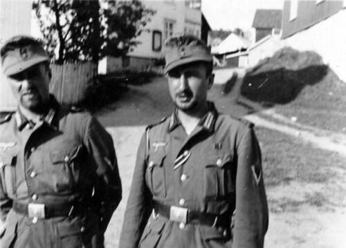 Tol soldater Hemnesberget sommeren 1940