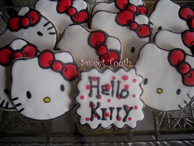 Hello Kitty Cookie Platter
