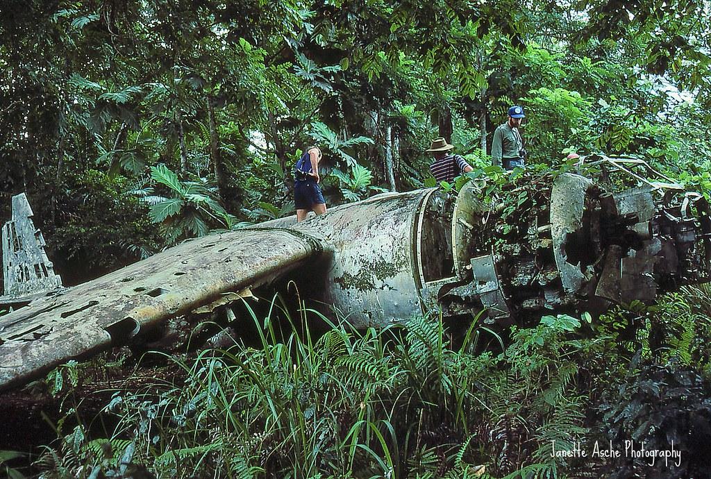 WW2 plane wreck, PNG | WW2 Japanese plane wreck near Madang,… | Flickr