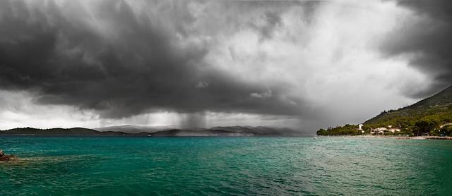 Panorama de la tormenta