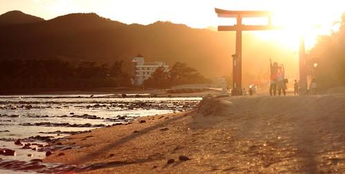 sunset beach japan heaven shore miyazaki 日本 torii kyushu aoshima afterlife 九州 青島 宮崎県 aoshimajinja 青島神社 鬼の洗濯板 n31485 e1312840