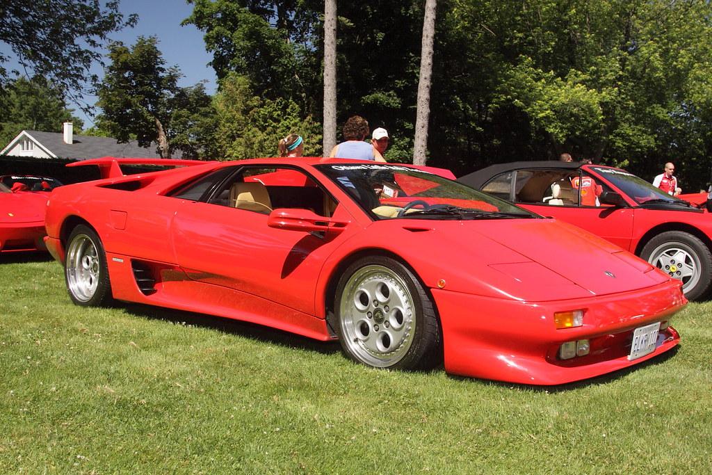 Lamborghini Diablo , 2011 Ottawa Ferrari Festival