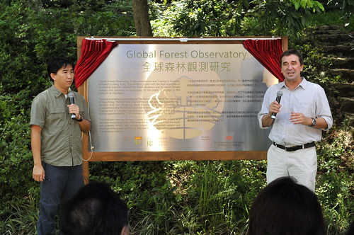 Sat, 06/25/2011 - 10:42 - Hong Kong Global Forest Observatory Launch Ceremony