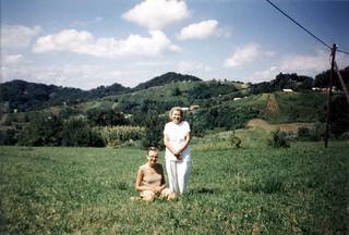 Nina and Anica in Zagorje Zelene