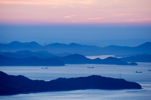 sunset fog bay nikon day takamatsu nikkor fx gettyimages 夕焼け yashima 湾 70300mmf4556gvr 屋島 d700 ©jakejung