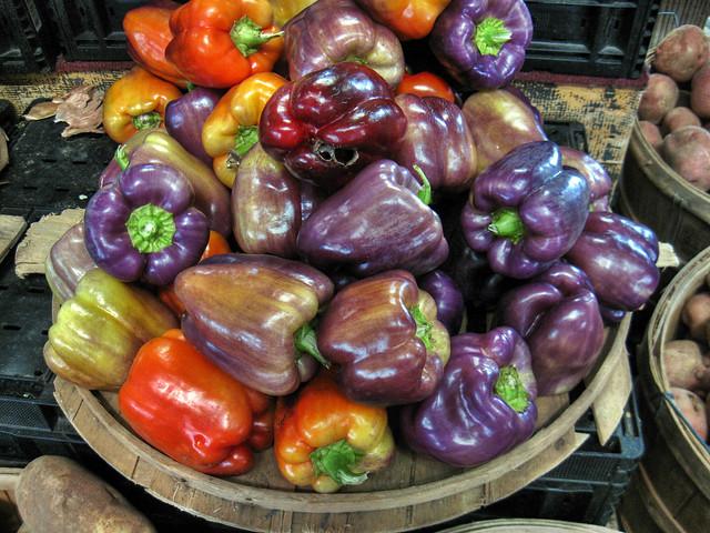 Bell Peppers, Farmer's Market, Nashville, TN