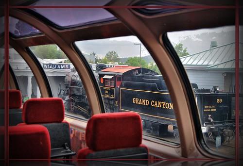 railroad arizona observation coach williams grandcanyon dome depot locomotive 29 thegrandview alcopittsburgh sc3class