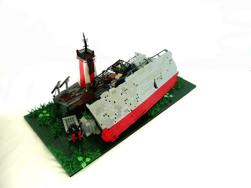 """The Wreck of the """"USS Buccaneer"""""""
