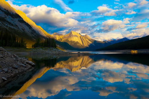 Medicine Lake, Jasper National Park, Canada | by eleephotography