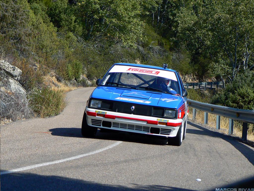 Renault 11 Turbo Abrahan Cabrera Subida Al Pielago 2011 Flickr