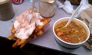 Garlic Crab Fries Crawfish Etouffee Alex Chiang Flickr