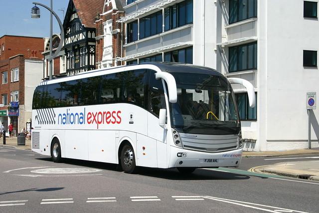 FJ58AHL Lucketts-National Express