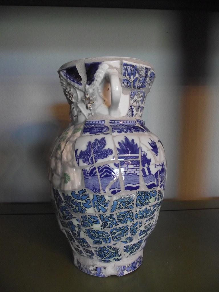 Teacup Mash Up Vase