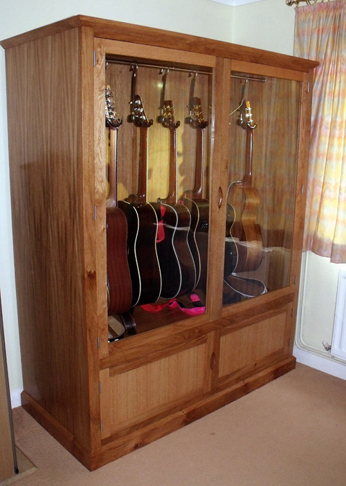 Oak Guitar Display Cabinet 3 | James Cooper | Flickr