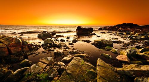 sunset seascape skåne rocks sweden pillars dagshög mygearandme mygearandmepremium mygearandmebronze mygearandmesilver mygearandmegold mygearandmeplatinum mygearandmediamond