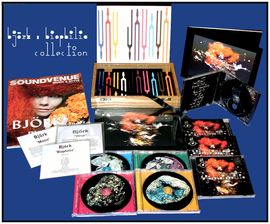 björk : biophilia : collection | The Ultimate Art Edition (B