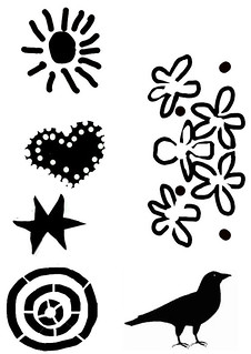 Stencil pattern | by Sultry/sulky/silly