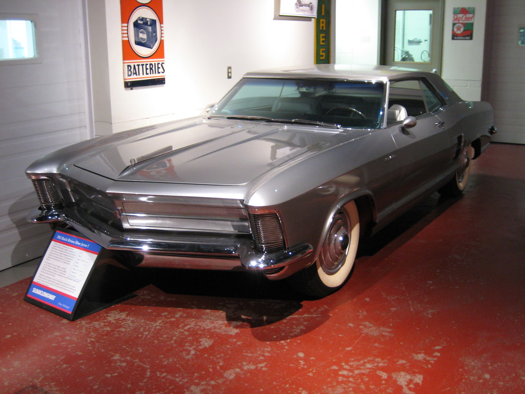 1963 Silver Arrow I | Sloan Museum / Buick Gallery & Researc ...