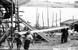 18-4 Ship Building, Nova Scotia, Canada 1936