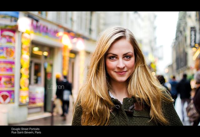 Lauren, Rue Saint-Séverin, Paris (10/100)