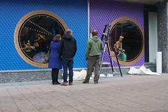 Bijenkorf etalage, Rotterdam