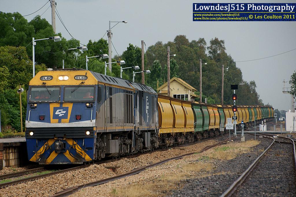 EL60 & GL103 at Benalla by LowndesJ515