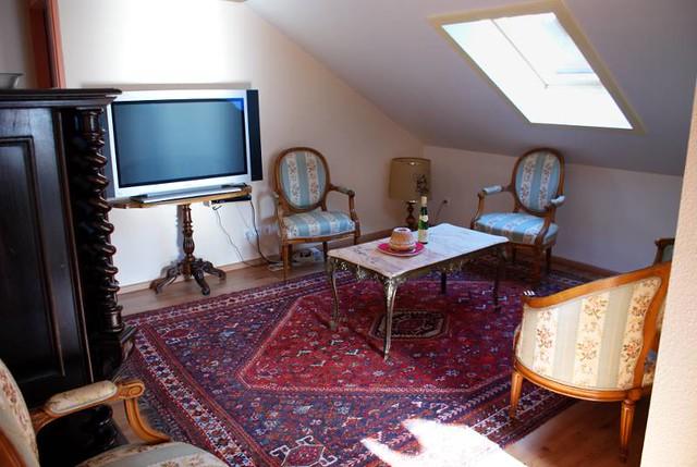 Gite Chez Simone et Christian Uhl - Turckheim - Le salon / salle à manger