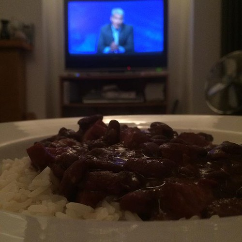 Monday: red beans and rice, with University Challenge. | by adactio