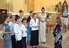 Der Chor der Billeder orthodoxen Kirche unter der Leitung von Dana Ruscu.